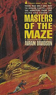 <i>Masters of the Maze</i> (novel) book by Avram Davidson