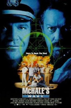 McHale's Navy (1997 film) - Theatrical release poster