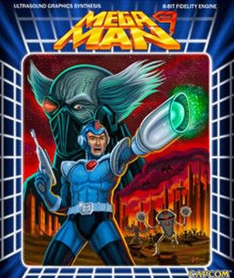 Mega Man 9 - Promotional artwork designed by iam8bit