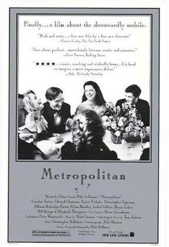 Metropolitan (1990 film) - Promotional poster for Metropolitan