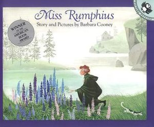 Miss Rumphius - Front cover of first edition