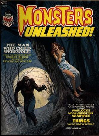 Monsters Unleashed (comics) - Image: Monsters Unleashed 01