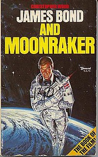 <i>James Bond and Moonraker</i> book by Christopher Wood
