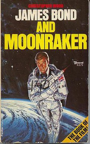 James Bond and Moonraker - 1979 Triad Panther British paperback edition