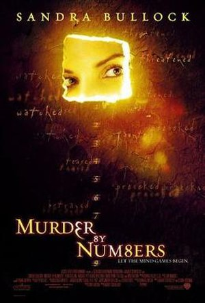 Murder by Numbers - Theatrical release poster