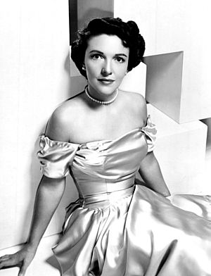 Nancy Reagan - Davis as an actress, 1950