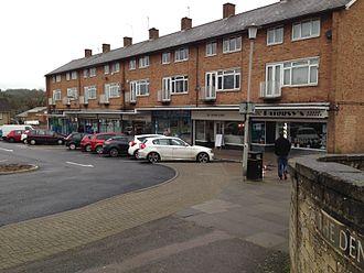 Nash Mills - Image: Nash Mills shopping parade