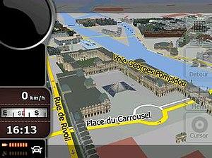 IGO (software) - Image: Nav N Go i GO8