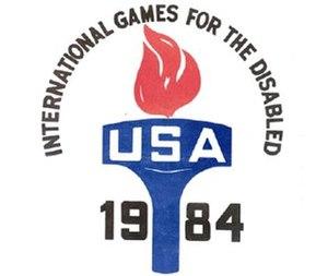 1984 Summer Paralympics - Image: New York 1984 Paralympics
