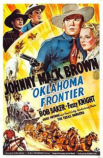 <i>Oklahoma Frontier</i> film directed by Ford Beebe
