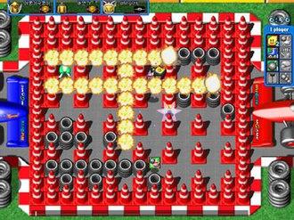Online Bomberman - Image: Onlinebomb 1