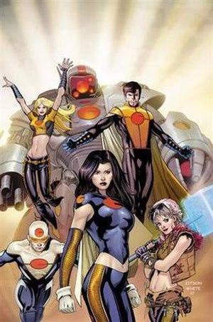 The Order (comics) - Image: Order 1 big