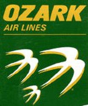 Ozark Air Lines - Image: Ozark Logo Dark Green