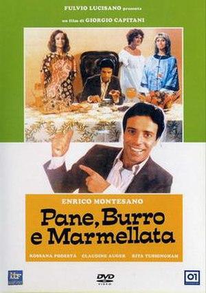 Pane, burro e marmellata - DVD cover