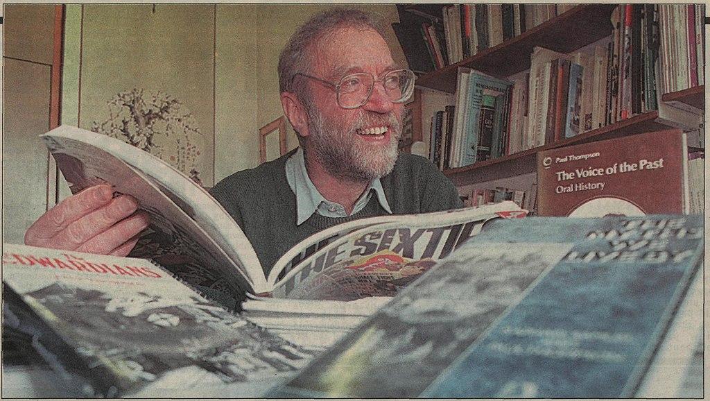 Paul Thompson in his University office.