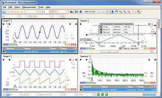 PicoScope (software) oscilloscope software application
