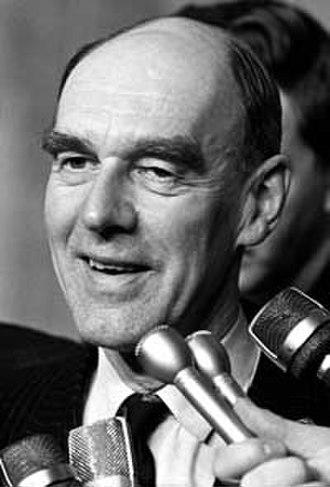Robert Stanfield - Image: Premier Robert Stanfield