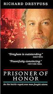<i>Prisoner of Honor</i> 1991 television film directed by Ken Russell