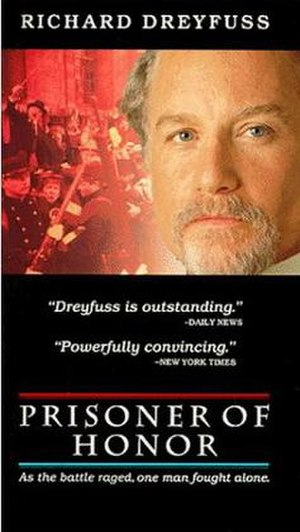 Prisoner of Honor - VHS Art cover