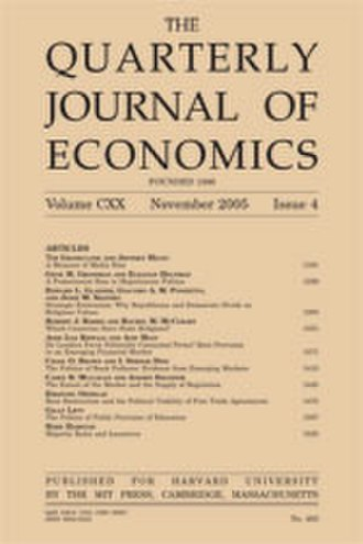 Quarterly Journal of Economics - Image: Qjoelowres
