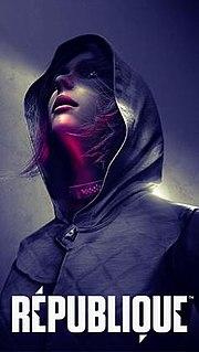 <i>République</i> (video game) stealth survival horror video game