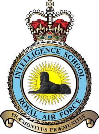 RAF Intelligence - Former RAF Intelligence School Crest 1942 to 1969
