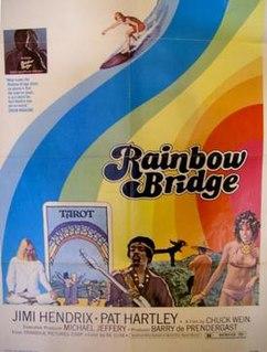 <i>Rainbow Bridge</i> (film) 1972 film by Chuck Wein