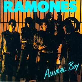 Animal Boy - Image: Ramones Animal Boy cover