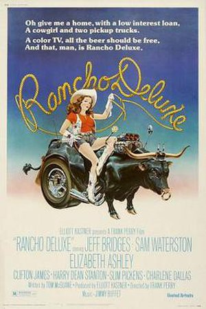 Rancho Deluxe - Theatrical release poster