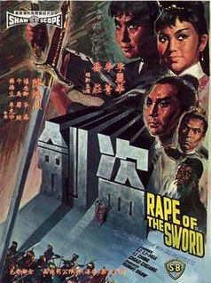 <i>Rape of the Sword</i> 1967 Hong Kong film directed by Yueh Feng