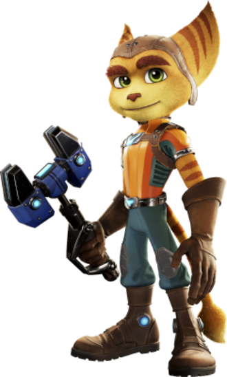 Ratchet (Ratchet & Clank) - Ratchet as he appears in All 4 One
