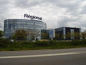 Régional Compagnie Aérienne Européenne - The head office of the airline at Nantes Atlantique Airport in Bouguenais
