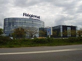 Bouguenais - The head office of Régional Compagnie Aérienne Européenne