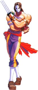 Vega (<i>Street Fighter</i>) character from the Street Fighter fighting game series