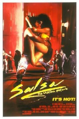 Salsa (1988 film) - Theatrical release poster