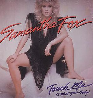 Touch Me (I Want Your Body) - Image: Sam Fox Touch Me I Want Your Body US 12 inch