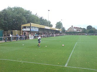 Worksop Town F.C. - Image: Sandy Lane Worksop 1
