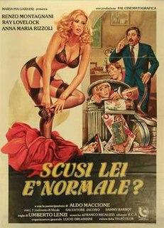 <i>Scusi lei è normale?</i> 1979 film by Umberto Lenzi