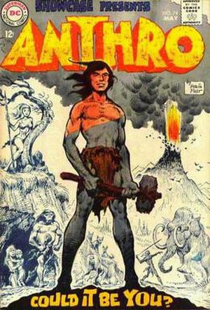 Anthro (comics) - Image: Showcase 74Anthro