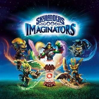 Skylanders: Imaginators - The Starter Pack has: fire creation crystal, 2 sensei, portal of power and video game. All other products sold separately.