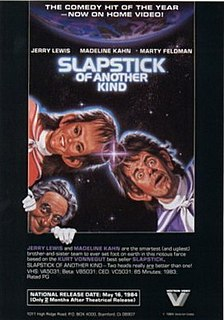 <i>Slapstick of Another Kind</i> 1982 film by Steven Paul