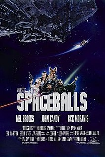 <i>Spaceballs</i> 1987 US science fiction parody film by Mel Brooks