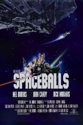 Spaceballs - Theatrical release poster by John Alvin