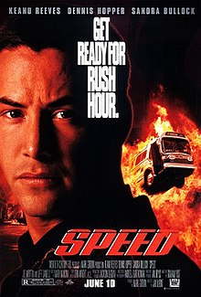 Speed (1994) (In Hindi) SL DM - Keanu Reeves, Dennis Hopper, Sandra Bullock, Joe Morton, and Jeff Daniels