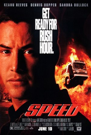 Speed (1994 film) - Theatrical release poster
