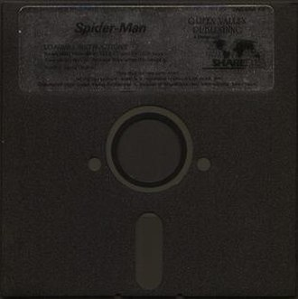 Floppy disk variants - Commercial nonwriteable Flippy disk with no write notches and two jacket index windows