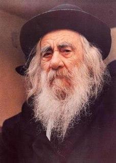 Yaakov Yisrael Kanievsky rabbi