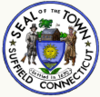 Official seal of Suffield, Connecticut
