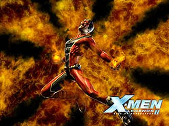 Sunfire (comics) - Sunfire as a playable character in X-Men Legends II: Rise of Apocalypse