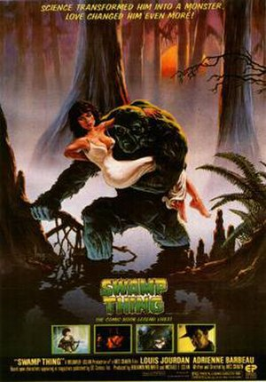 Swamp Thing (film) - Theatrical release poster